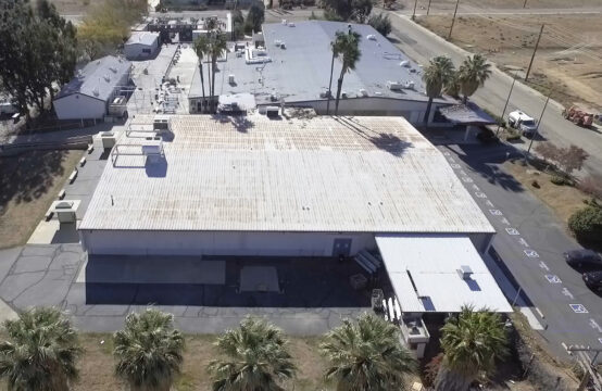 Warehouse for Lease Banning, CA Aerial View